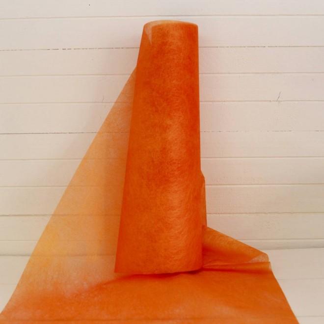 10 m de chemin de table orange pour la d co de table de - Chemin de table orange ...