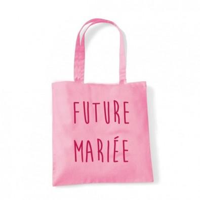 "Tote Bag ""Future Mariée"""