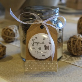 Kit à cookies Flocons Joyeuses Fêtes