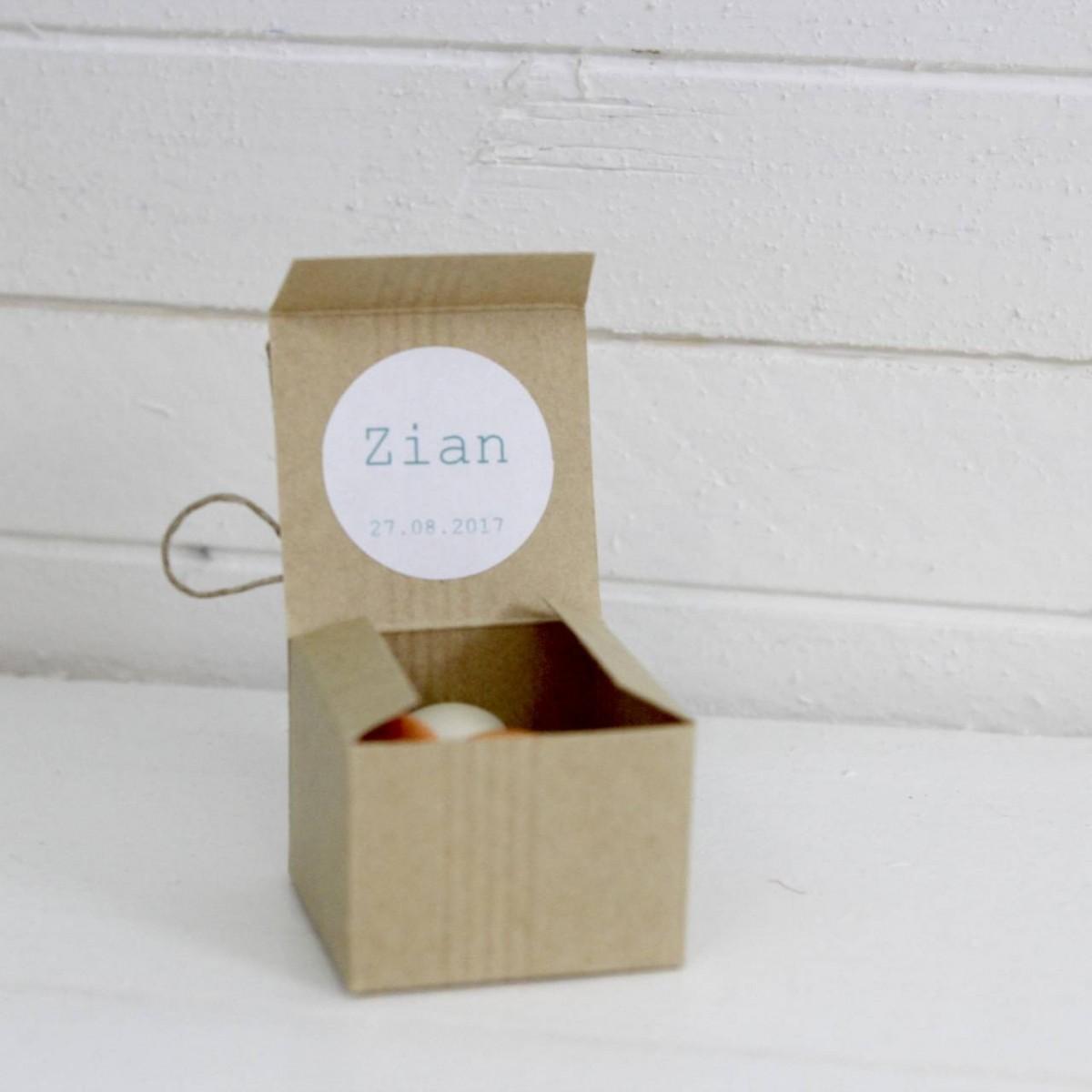 Boite en carton renard les p tites f es - Boite en carton decoree ...