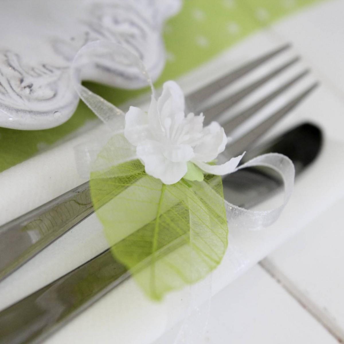 ... rond de serviette pour votre table de mariage sur le thème champêtre