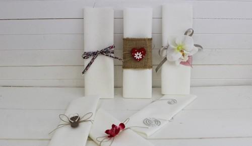 serviette de table tissu pour mariage. Black Bedroom Furniture Sets. Home Design Ideas