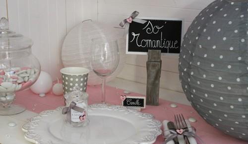 Deco mariage romantique decoration mariage les p tites f es - Deco mariage romantique ...