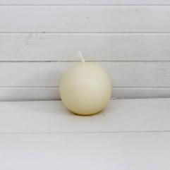 Bougie ronde 7 cm écru