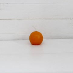 Bougie ronde 3,2 cm orange