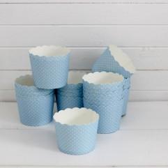 25 caissettes bleues