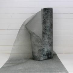 10 m de chemin de table gris