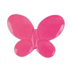 12 Papillons Fuchsia