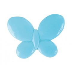 12 Papillons Turquoise