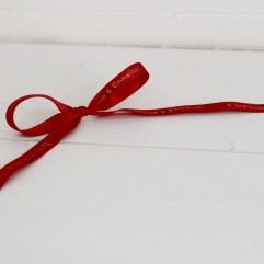 20 M De Ruban Rouge Imprimé Personnalisable