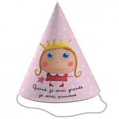 6 chapeaux princesse