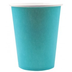 10 Gobelets Turquoise