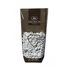 250 g de mini coeurs blanc