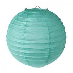 2 Lanternes 30 Cm Menthe