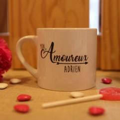 """Mug """"Mon Amoureux"""" Personnalisé"""
