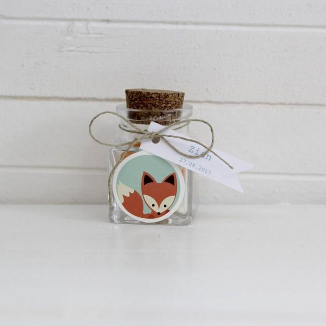 Pot carré renard