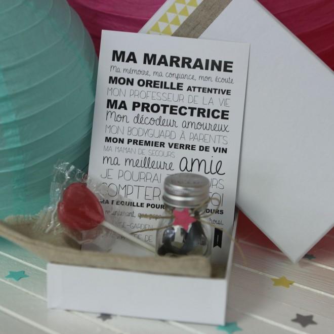 La boite Veux-tu être ma Marraine ? (C)