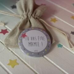 """Pochon """"Tu va être Mamie"""""""