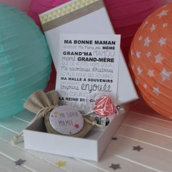 """La boite à bonheurs """"Ma Super Mamie"""""""
