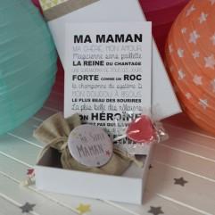 "La boite à bonheurs ""Ma Super Maman"""