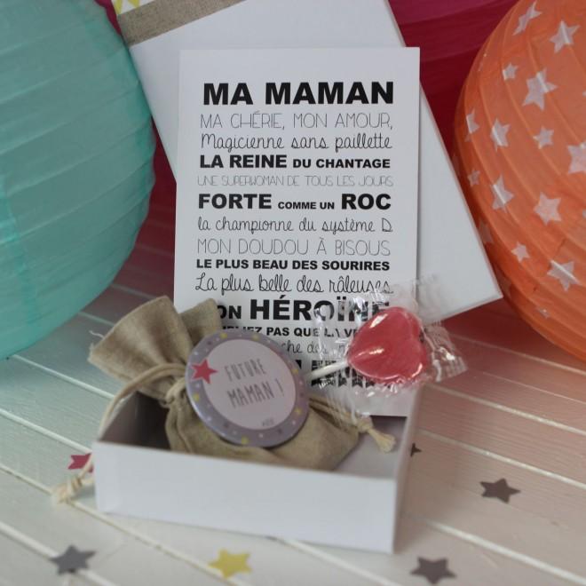 "La boite à bonheurs ""Future Maman"""