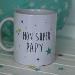 "Mug ""Mon Super Papy"""