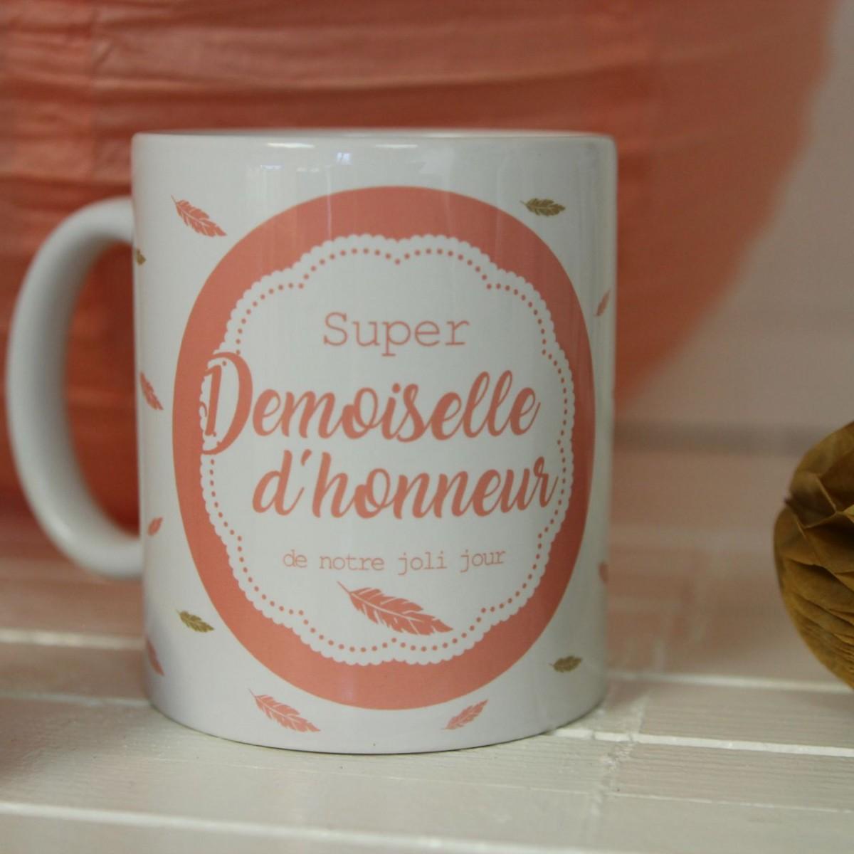 mug ma demoiselle d 39 honneur id e cadeau mariage. Black Bedroom Furniture Sets. Home Design Ideas