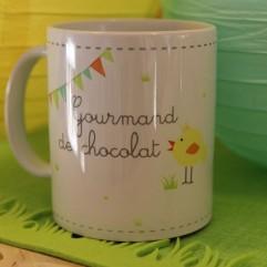 "Mug ""Gourmand de chocolat"" (G)"