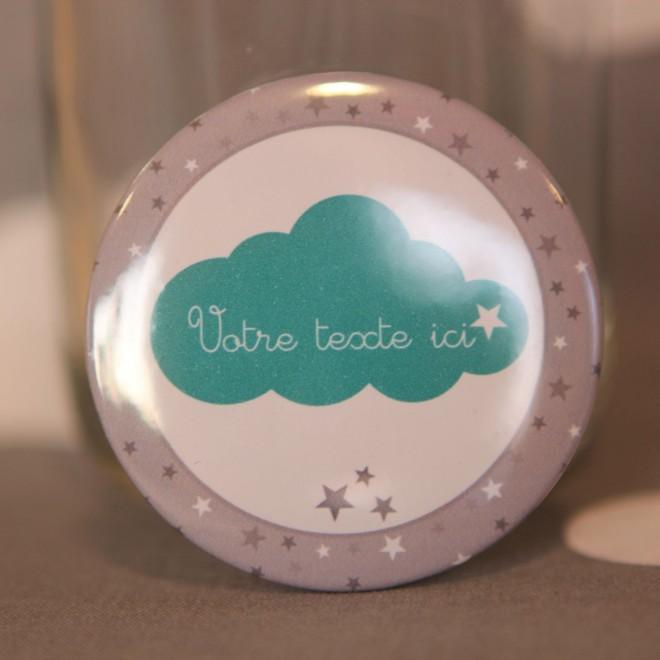 Badge et divers nuage personnalisable