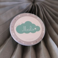 Badge 37mm Nuage Personnalisable