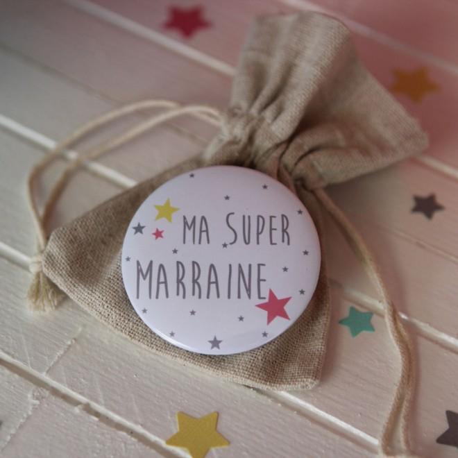"Ma Super Marraine ""étoiles"""