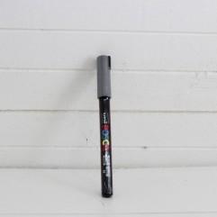 Crayon argenté posca