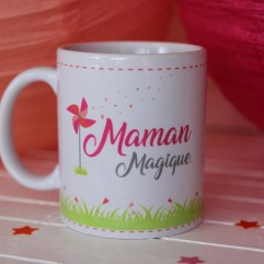 """Mug """"Maman Magique"""" peronnalisable"""