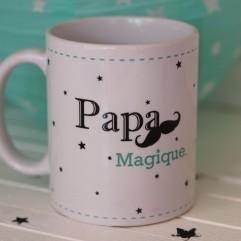 """Mug """"Papa Magique"""" peronnalisable"""