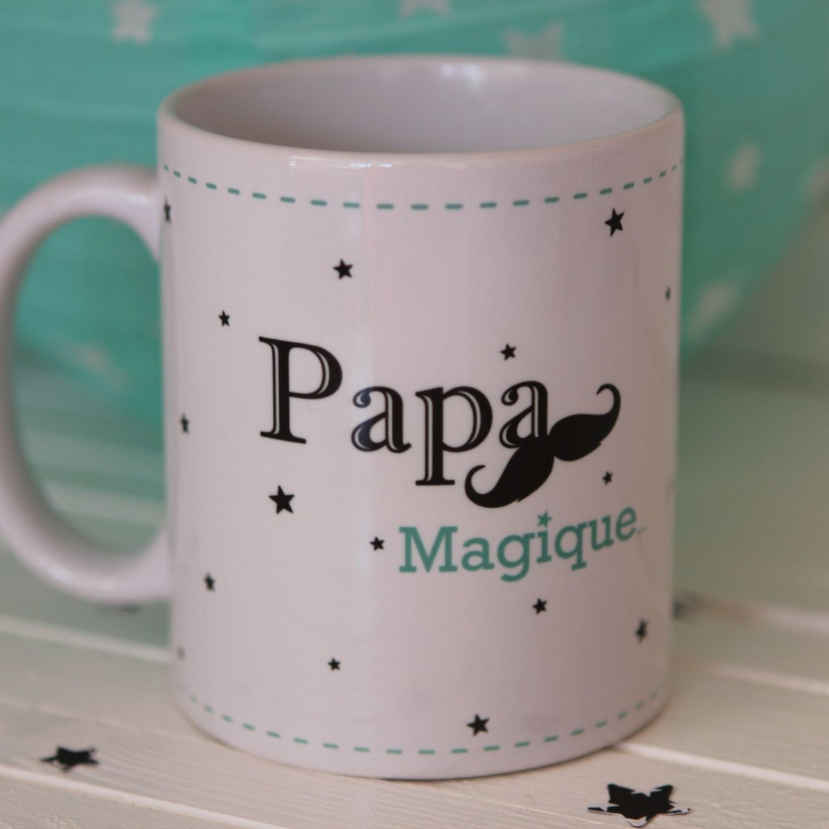mug super papa personnalisable f te des p res id es cadeau. Black Bedroom Furniture Sets. Home Design Ideas