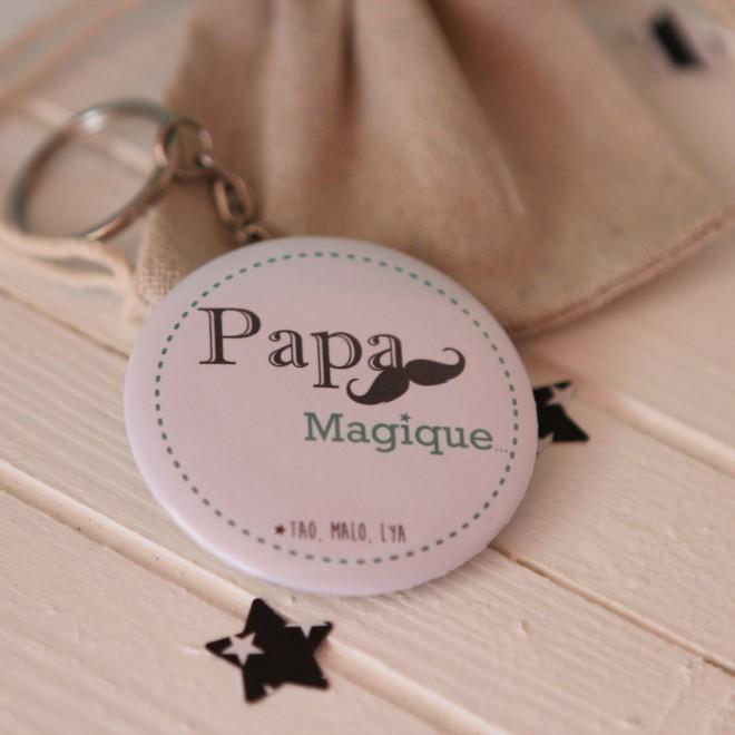 """Divers thème """"Papa magique"""" personnalisable"""