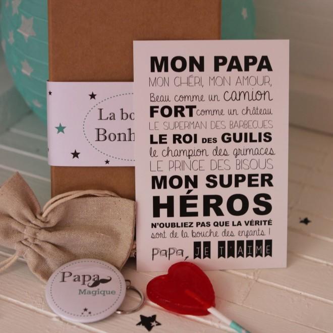 Coffret Bonheur Papa Magique Idees Cadeaux