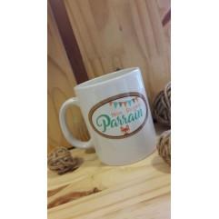 Mug personnalisable Super parrain Renard
