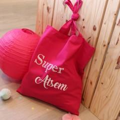 "Tote Bag ""Super Atsem"" G"