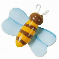 8 abeilles en bois