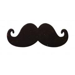 8 moustaches en bois