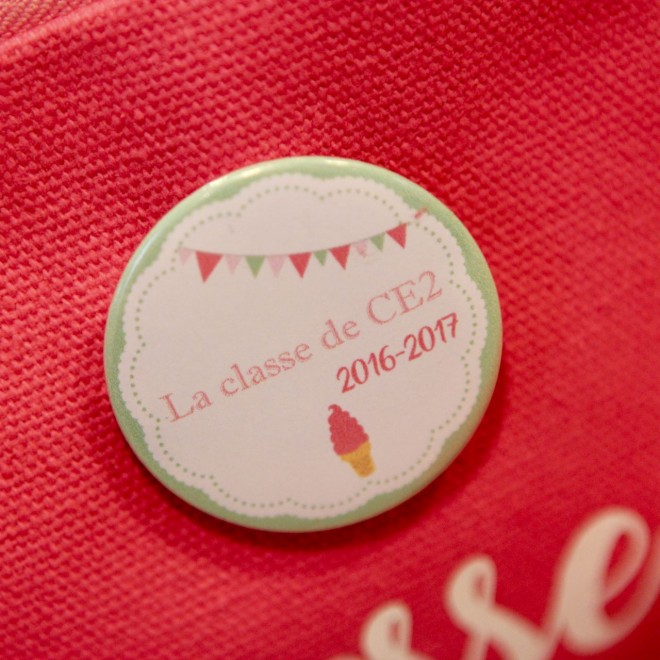 """Badge 37mm """"glace"""""""