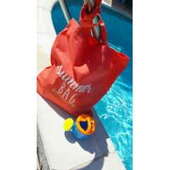 "Tote Bag ""My summer bag"""