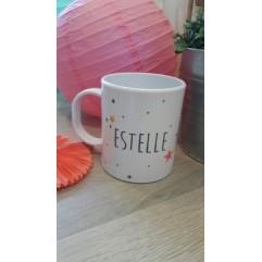 Tasse Polymère (plastique) Etoiles fille