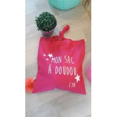 Mon sac à doudou + prénom