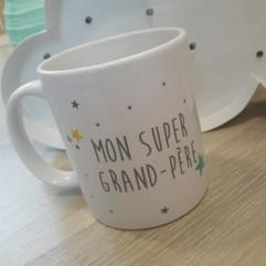 "Mug ""Mon Super Grand-Père"""