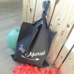 "Tote Bag ""Just Married"""
