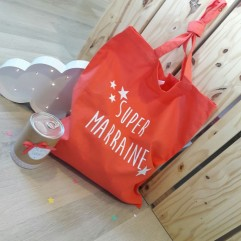 "Boite surprise Sac ""Super marraine """