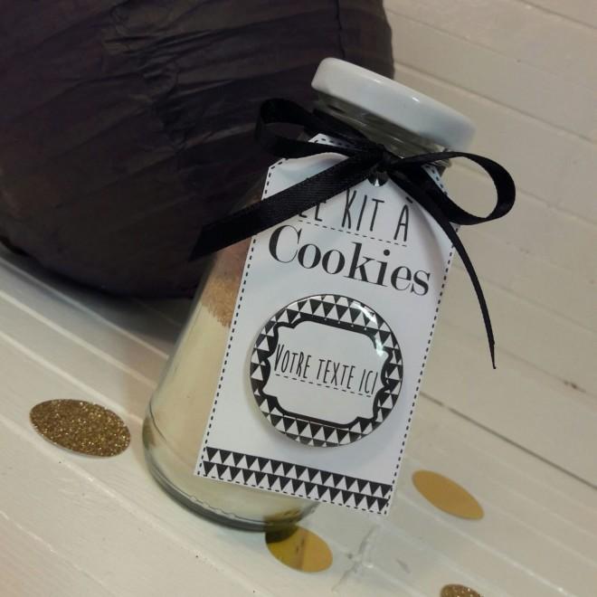 """Kit à cookies personnalisable """"Graphique"""""""