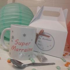 """Petite Box """"Super Marraine"""" Flocon"""